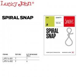 Lucky John Agrafa Rapida Spiralata (SPIRAL SNAP)