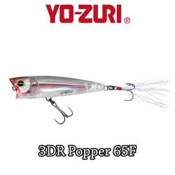 YO-ZURI 3DR POPPER 6,5CM - 7GR / FLOATING