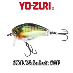 YO-ZURI 3DR WAKEBAIT 5CM - 8,5GR/ FLOATING