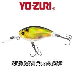 YO-ZURI 3DR MID CRANK 5CM - 8,5GR/ FLOATING