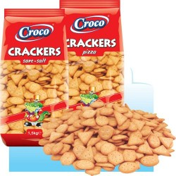 Croco Crackers sare 1.5kg *(2)