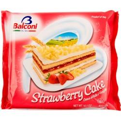 Tort Balconi  Capsuni  400gr *(6)