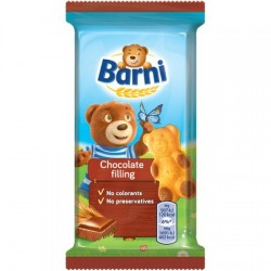 Prajitura cu crema de ciocolata 30g Barni *(24)