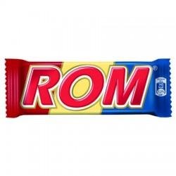 Baton de ciocolata cu crema de rom 30g Rom