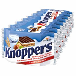 Napolitane KNOPPERS, 8 x 25g