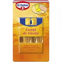 Esenta de vanilie 4 fiole 4x2ml Dr. Oetker