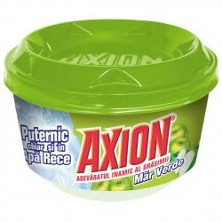 Detergent pasta pentru vase Axion, aroma mar verde, 225 g