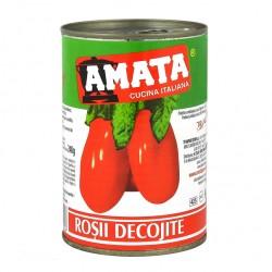 Rosii decojite intregi, 400gr, Amata