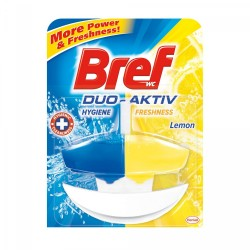 Odorizant wc baie Bref Duo-Aktiv Lemon, 50 ml