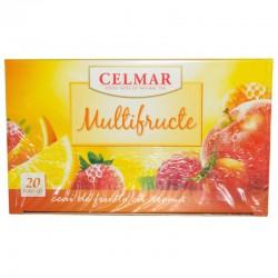 Ceai cu multifructe 20 plicuri, Celmar