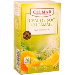 Ceai de soc cu lamaie 20 plicuri, Celmar