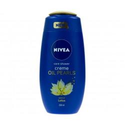 Gel de dus Nivea Creme Oil Pearls Lotus, 250 ml