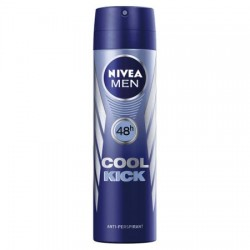 Deodorant spray Nivea Men Cool Kick, 150 ml