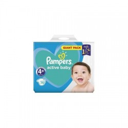 Scutece Pampers Active Baby Nr.4+ (10-15kg) 70 buc