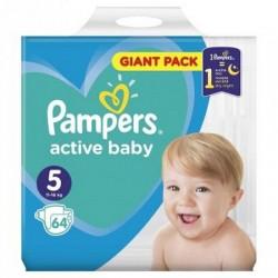 Pampers Active Baby Nr.5 (11-16kg)  64 bucati