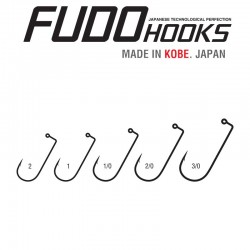 Carlige Fudo Jig EXH , Black Nickel