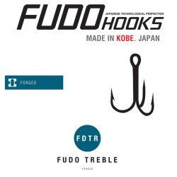 Ancore Fudo Treble , Black Nickel