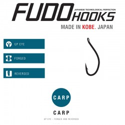 Carlige Fudo Carp , Black Nickel
