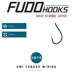 Carlige Fudo Umi Tanago Ring , Black Nickel