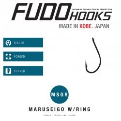 Carlige Fudo Maruseigo Ring , Black Nickel