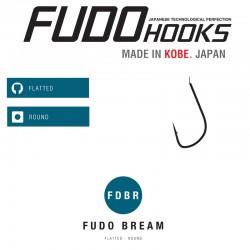 Carlige Fudo Bream (Yamame) , Black Nickel