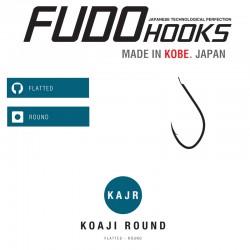 Carlige Fudo Koaji Round , Black  Nickel