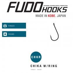 Carlige Fudo Chika Ring , Black Nickel