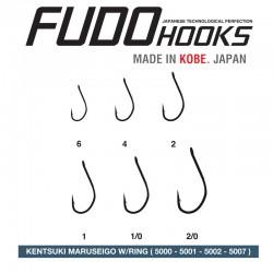 Carlige Fudo Kentsuki Maruseigo Ring , Black Nickel