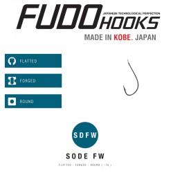 Carlige Fudo Sode-FW , Black Nickel