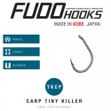 Carlige Fudo Carp Tiny Killer , Black Nickel