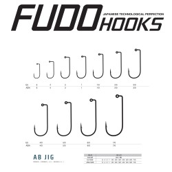 Carlige Fudo AB Jig , Black Nickel
