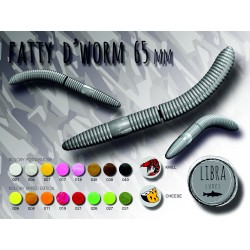 Naluca Pastrav Fatty D' Worm 6,5cm/10buc - Libra
