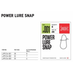 Lucky John Agrafa Power Lure Snap - LJP5126