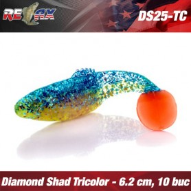 Pachet Diamond Shad 6,2 CM TriColor