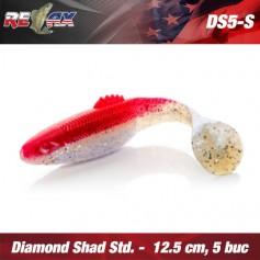 Diamond Shad 12,5cm Standard Relax (5buc/plic)
