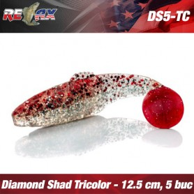 Diamond Shad 12,5 CM TriColour
