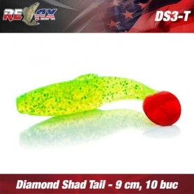 Relax Diamond Shad 7,5 CM Tiger (plic 5 buc.)