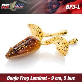 Banjo Frog 9 CM Laminat