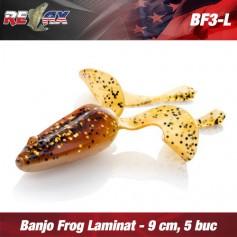 Banjo Frog 9cm Laminat Relax (plic 5 buc.)