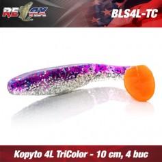 Kopyto 10cm 4L TriColor TC Relax (4buc/plic)
