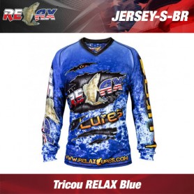 Tricou RELAX Blue