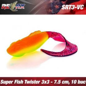 Relax Super Fish 7,5 CM (Twister Tail) 3x3 (plic 5 buc.)