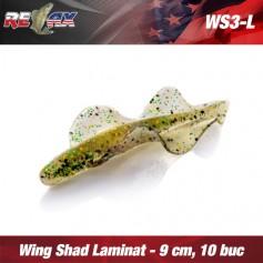 Wing Shad 9cm Laminat Relax (10buc/plic)