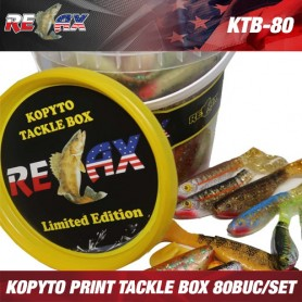 Relax Kopyto Print Tackle Box *(80buc/set)