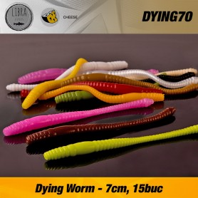 Naluca Pastrav Dying Worm 7cm/15buc - Libra