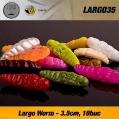 Naluca Siliconica Pastrav Largo Libra Lures 3,5cm/10buc
