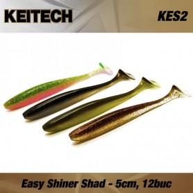 Keitech Easy Shiner, Shad, 5cm, 12buc/plic