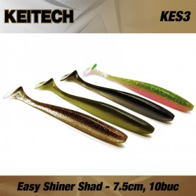 Keitech Easy Shiner, Shad, 7.5cm