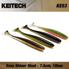 Keitech Easy Shiner, Shad, 7.5cm, 10buc/plic