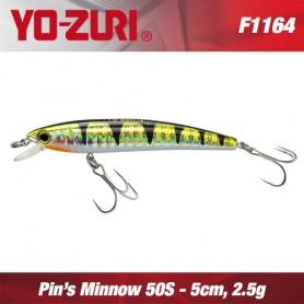 YO-ZURI PIN'S MINNOW 5cm SINKING (NEW SERIES)